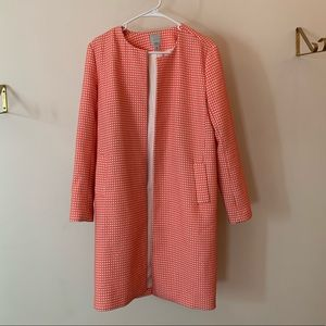 Halogen Pink Trench Coat